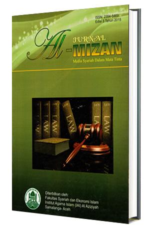 Jurnal Al-Mizan sebagai Media Syariah Dalam Mata Tinta